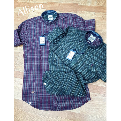 Mens Cotton Check Shirt