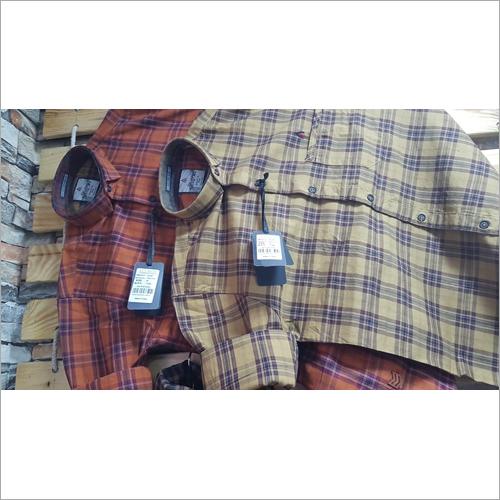 Mens Pure Cotton Check Shirt
