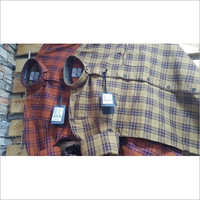 Mens Pure Cotton Check Shirt