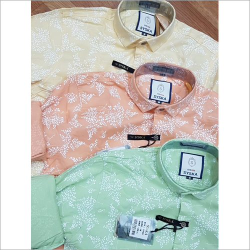 Mens Trendy Cotton Shirt