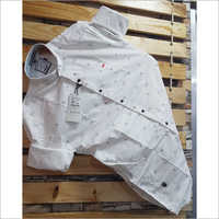 Mens Cotton Party Wear Shirt