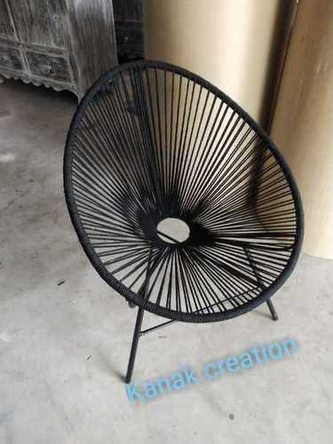 IRON OVEL SHAPE CHAIR