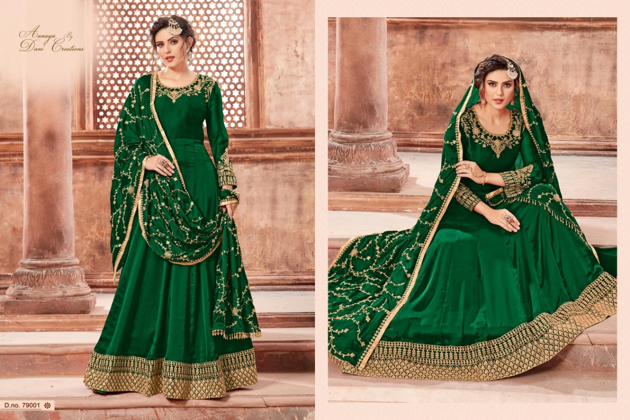Designer anarkali salwar suits