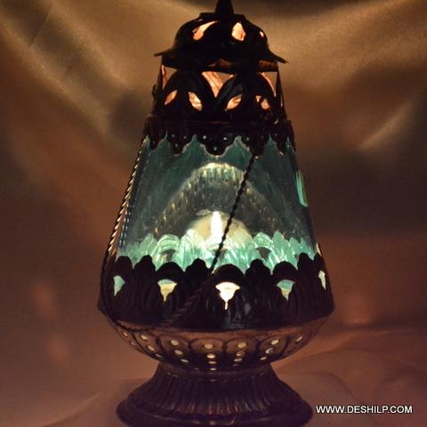 Glass Metal Fir Candle Older & Lanterns