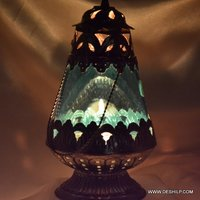 Glass Metal Fir Candle Older & Lanterns