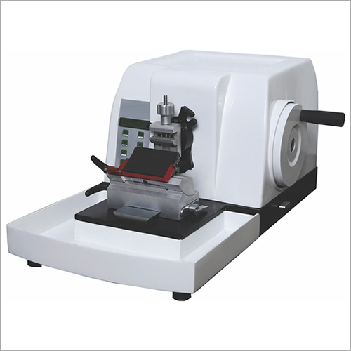 Semi Automatic Microtome Machine