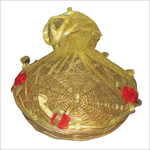 Decorative Cane Basket