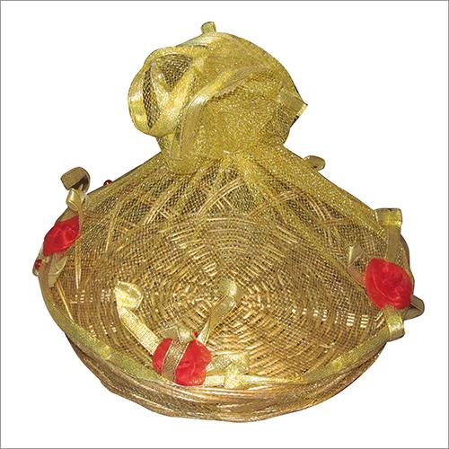 Decorative Cane Basket