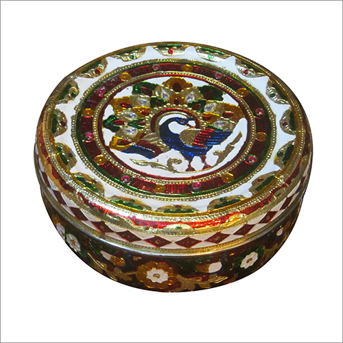 Round Shape Decorative Box