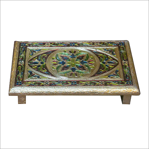 Rectangular Pooja Stool