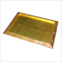 Decorative packaging tray