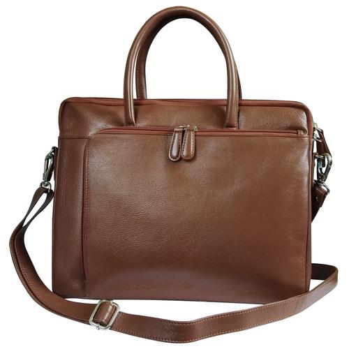 Genuine Leather Laptop Bag for Men
