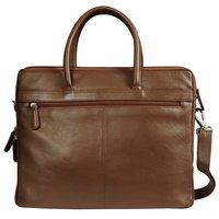 Men Leather Laptop Organizer Bag