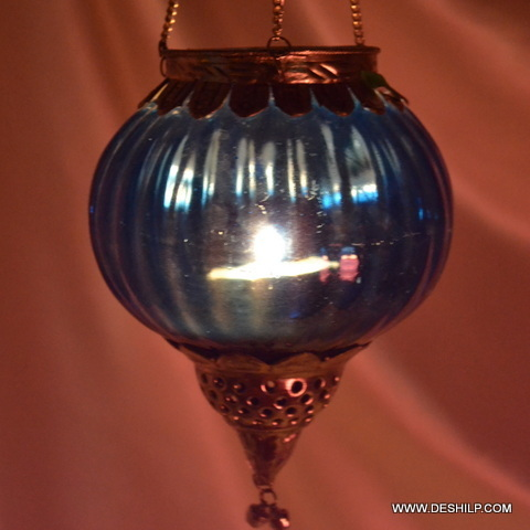 Colorful Hanging T Light Candle