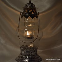 Clear Glass Antique Lantern
