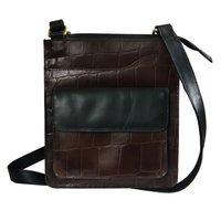 Genuine Leather Office Shoulder Bag