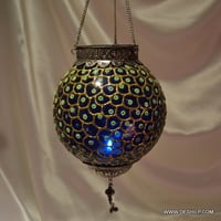 Decor Glass Wall Hanging T Light
