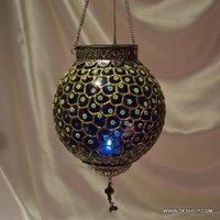DECOR GLASS WALL HANGING T LIGHT
