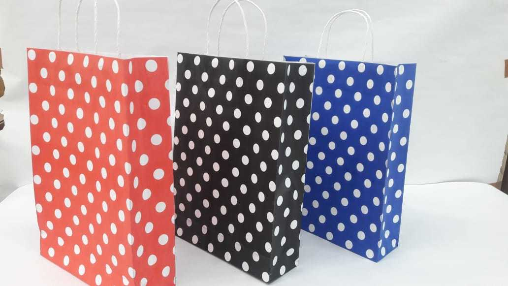 Patterned Paper Bags