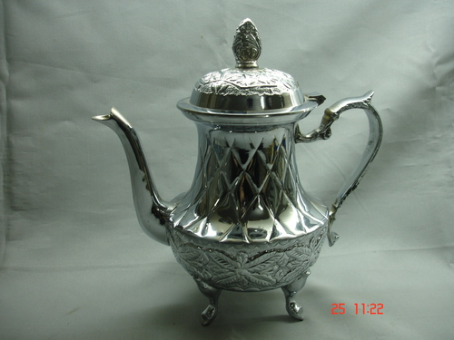 Tea Pot Chrome 10CC.