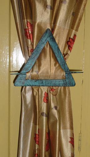 Wooden Curtain Holder