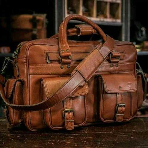 Leather Messenger hand bag