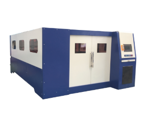 Enclosed Fiber Laser Cutting