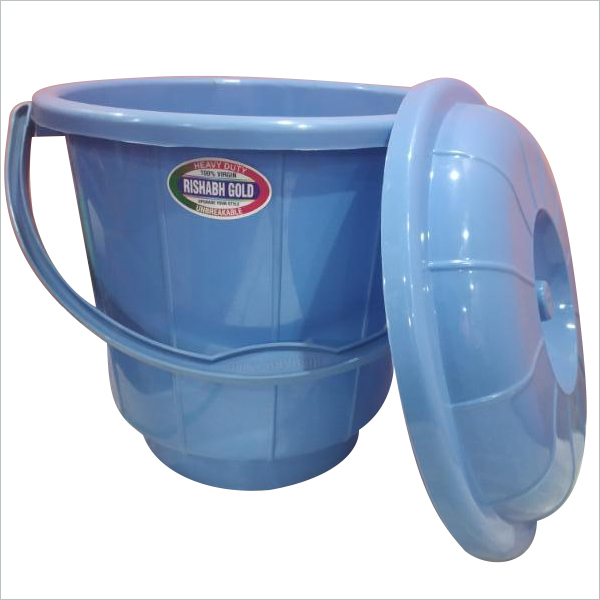 Plastic Bucket  Lid