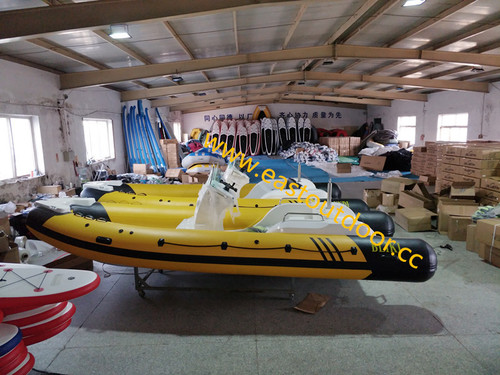 Rigid Hull Fiberglass Inflatable Boat