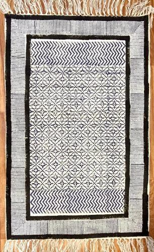 Block Pronted Cotton Rugs