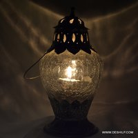 Creak Glass T Light Lantern