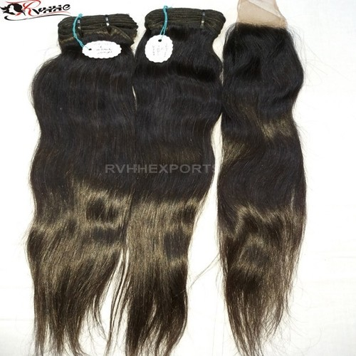 None Chemical Processing And Hair Weaving Hair Extension Type Raw Virgin Cuticle Aligned Hair From India