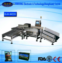 Automatic Online Type Check Weigher