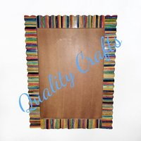 Multicolored Bone Picture Frame