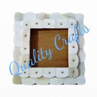 Bone inlay picture frame