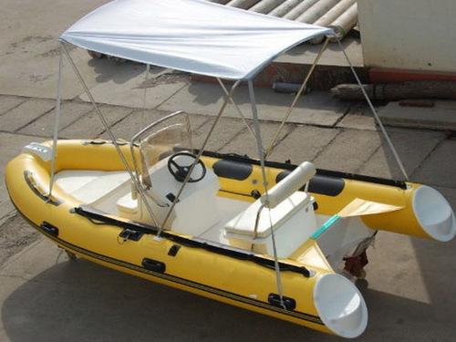 RIB-430 Fiberglass Hull Boat