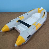 Inflatable Fiberglass Rescue Boat