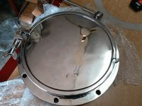 S.S. Silicon Seated Butterfly valve