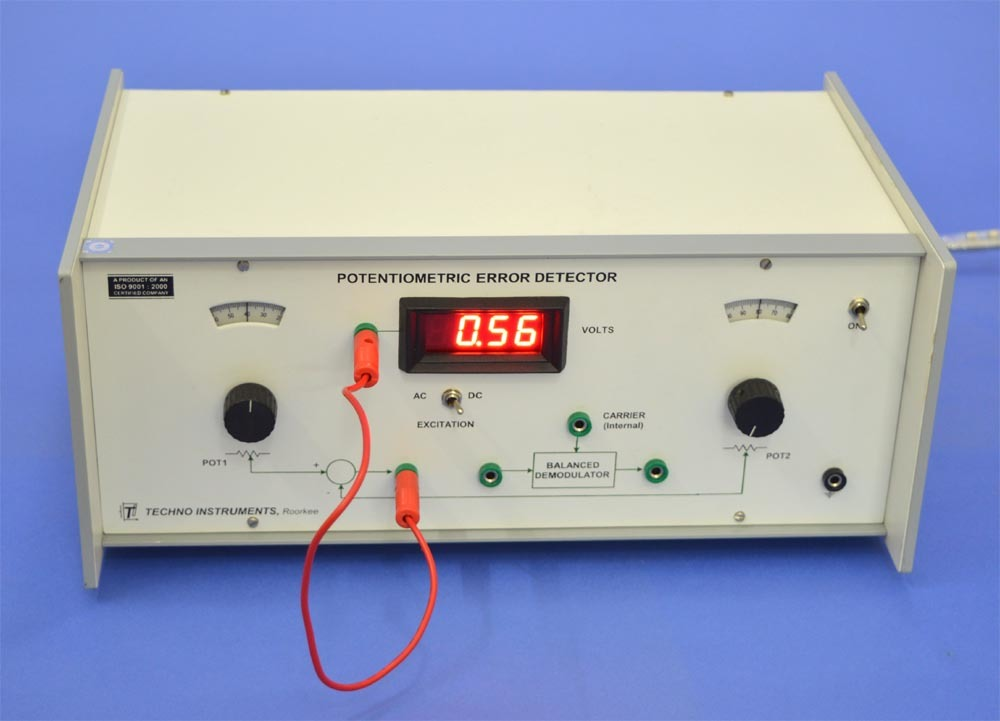 Potentiometric Error Detector, PED-01