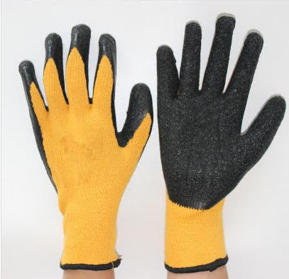 Submerged Latex Work Gloves