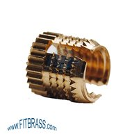 Brass Barbed Expansion Insert