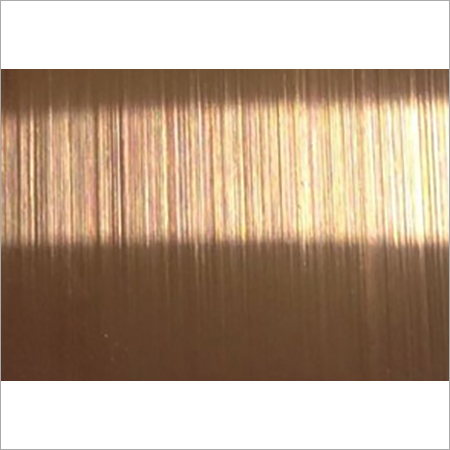PVD Colour Coated Hairline Stainless Steel Sheets