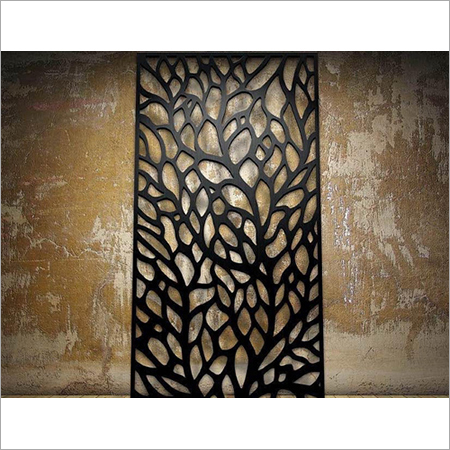 PVD Colour coated laser cut panels in stainless Steel