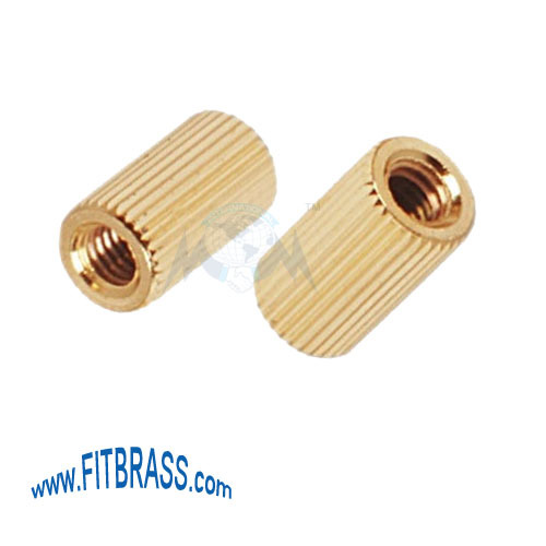 Brass Straight Knurling Insert