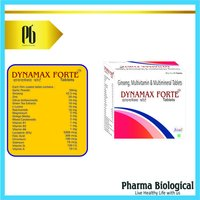 DYNAMAX FORTE-ANTIOXIDANT,MULTI VITAMIN,MULTIMINERAL CAPSULE WITH GINSENG