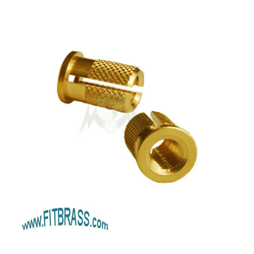 Vaned Expansion Brass Insert