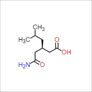 R-(-)-3-(Carbamoylmethyl)-5-methylhexanoic acid