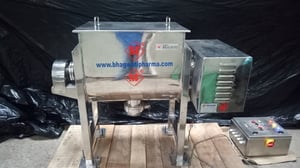 Ribbon Blender Machine for with Screw Conveyor for Powder