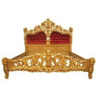 Red Royal Gold Bed