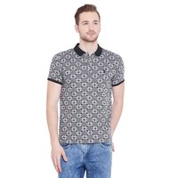 03_Mens Jacquard Grey T-Shirt